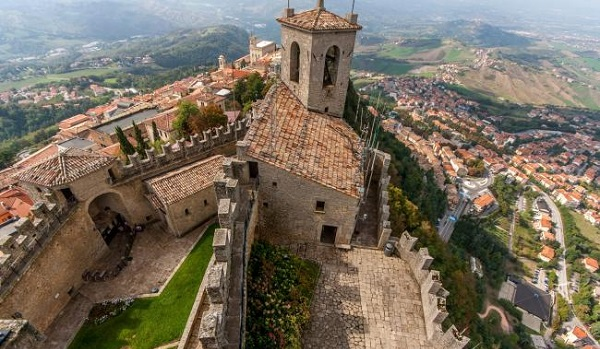 Where is San Marino? Cities and Zones