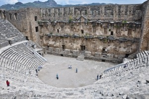 "This Day in History from ""Breathtaking City Aspendos"""