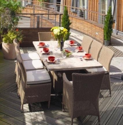 Nouvelle saison plus élégant Jardin Terrasse Meubles